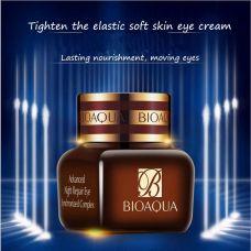 Крем для кожи вокруг глаз укрепляющий и увлажняющий BIOAQUA Essence Advanced Night Repair Eye (20г)