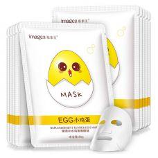 Маска-салфетка для лица яичная питательная IMAGES Replenishment Tender Egg Mask (25г)