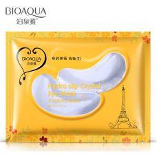Патчи под глаза с экстрактом цветов освежающие BIOAQUA Hydra Slip Crystal Eye Mask (7,5г)