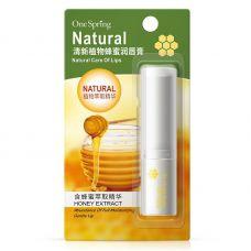 Бальзам для губ с медом ONESPRING Natural Lip Extract (2.7г)