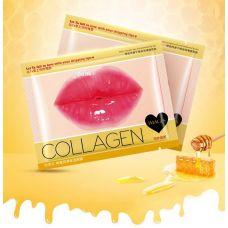 Маска патч для губ коллагеновая с экстрактом меда IMAGES Beauty Collagen Honey (8мл)