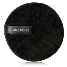 Бавовняний спонж для вмивання MAANGE Clean Sponge чорний