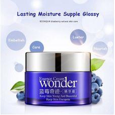 Крем для лица с экстрактом черники отбеливающий и увлажняющий BIOAQUA Essence Cream Wonder (50мл)