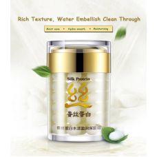 Крем для лица с протеином шелка увлажняющий BIOAQUA Silk Protein (60мл)