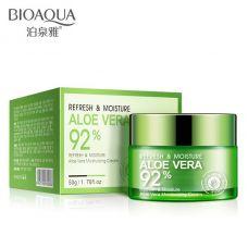 Крем для лица с Алое Вера 92% увлажняющий BIOAQUA Aloe Vera 92% (50г)