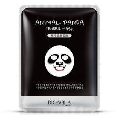 Маска-салфетка для лица Панда смягчающая BIOAQUA Animal Panda Mask (30г)