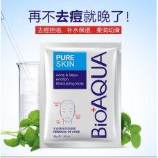 Маска для лица очищающая Анти Акне BIOAQUA Pure Skin (30мл)