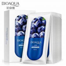 Маска для обличчя з Чорницею зволожуюча BIOAQUA Blueberry Jelly Mask (8г)