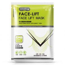 Маска-салфетка для лица, шеи и ушей с лифтинг эффектом ROREC Face Lift (40г)