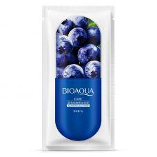 Маска для лица с Черникой увлажняющая BIOAQUA Blueberry Jelly Mask (8г)