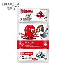 Маска для Т-зоны осьминог очищающая в три этапа BIOAQUA Tako-Zone (18мл)