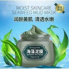 Маска для лица грязевая с морскими водорослями BIOAQUA Seaweed Mud Mask (120г)