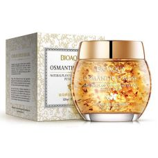 Гелевая маска для лица с лепестками османтуса BIOAQUA Osmanthus Mask Natural Plant Osmanthus Bright Petals Mask (120г)