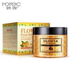 Маска для лица гелевая с лепестками османтуса ROREC Flower Petal Mask Osmantus (140г)