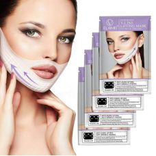Курс для подтяжки овала лица ELAIMEI Intensive V-Line Lifting Mask For Face & Chin Line (1уп/4шт)