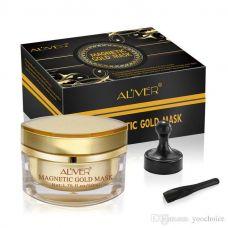 Омолоджуюча магнітна маска з золотом і брудом мертвого моря ALIVER Magnetic Gold Mask (50мл)