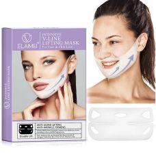 Лифтинг-курс для интенсивного восстановления и подтяжки овала лица ELAIMEI Intensive V-Line Lifting Mask For Face & Chin Line (4 процедуры)