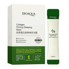Набор ночных масок с коллагеном BIOAQUA Collagen Firming Sleeping Mask (4мл*20шт)