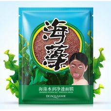 Маска из семян водорослей BIOAQUA Seaweed Hydra Net Through Mask (15г)