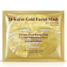 Маска-патч для лица осветляющая с золотом 24К BIOAQUA 24K Gold Crystal Whitening Mask (60г)