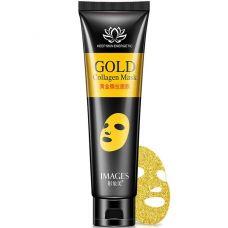 Золотая маска пленка с коллагеном IMAGES Gold Collagen Mask (60г)