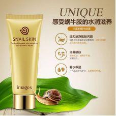 Очищающее молочко для умывания IMAGES Beauty Snail Water Sensitive Skin Cleanser (100мл)