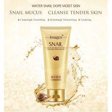 Очищающий крем для умывания с экстрактом улитки IMAGES Beauty Snail (100мл)