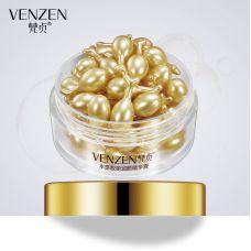 Сыворотка для лица в капсулах увлажняющая VENZEN Bright Collagen (30г)