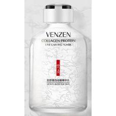 Антивозрастная ессенция для лица с коллагеном VENZEN Collagen Protein Line Carving Toner (50мл)