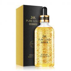 Сыворотка для лица с гиалуроновой кислотой и золотом 24K VENZEN 24k Pure Gold (100мл)