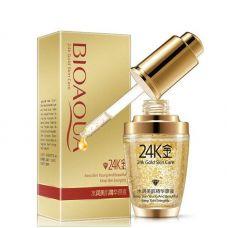 Сыворотка для лица с гиалуроновой кислотой и золотом 24K BIOAQUA 24k Gold Skin Care (30мл)