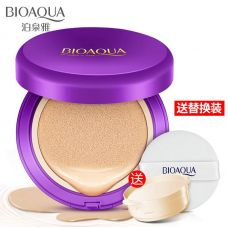 Кушон BIOAQUA Water Glowing Air Cushion Cream Foundation (15+15г)
