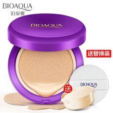 Кушон BIOAQUA Water Glowing Air Cushion Cream Foundation (15+15г)