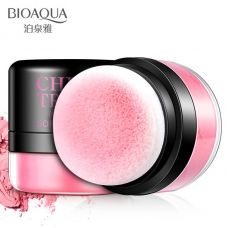 Румяна с пуховкой BIOAQUA Chic Trendy Soft Rose Blush NO#3 (4г)