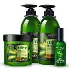 Набор для волос BIOAQUA Olive Natural (4шт)