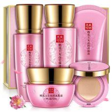 Подарочный набор с сакурой WUZETIAN Peach Blossom Jade Crystal Plant Extracts Skin Care