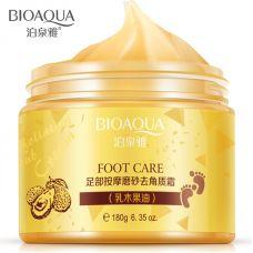 Крем скатка для ног очищение и питание с авокадо BIOAQUA Foot Care Avocado (180г)