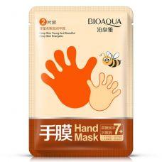 Маска перчатки для рук увлажняющая с медом BIOAQUA (1 пара)