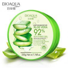 Гель для лица и тела с алое вера BIOAQUA Aloe Vera 92% Soothing Gel (200г)