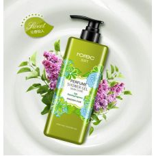 Гель для душа ROREC Soft Perfume Showder Gel Green (550мл)