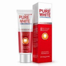 Зубная паста отбеливающая BIOAQUA Pure White (120г)