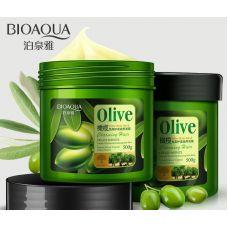 Маска для волос с оливковым маслом BIOAQUA Olive Hair Mask (500мл)