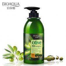 Бальзам для волосся з оливковою олією BIOAQUA Olive Elastin (400мл)