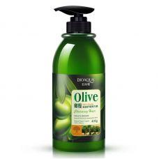 Бальзам для волос с оливковым маслом BIOAQUA Olive Elastin (400мл)