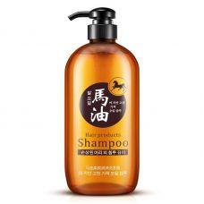 Шампунь для волос с конским жиром BIOAQUA Horse Oil Care Soft Hair (300г)